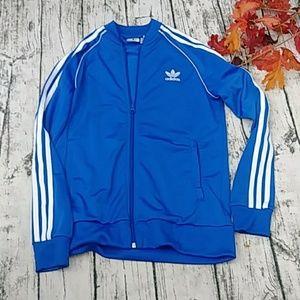 Adidas Women blue jacket